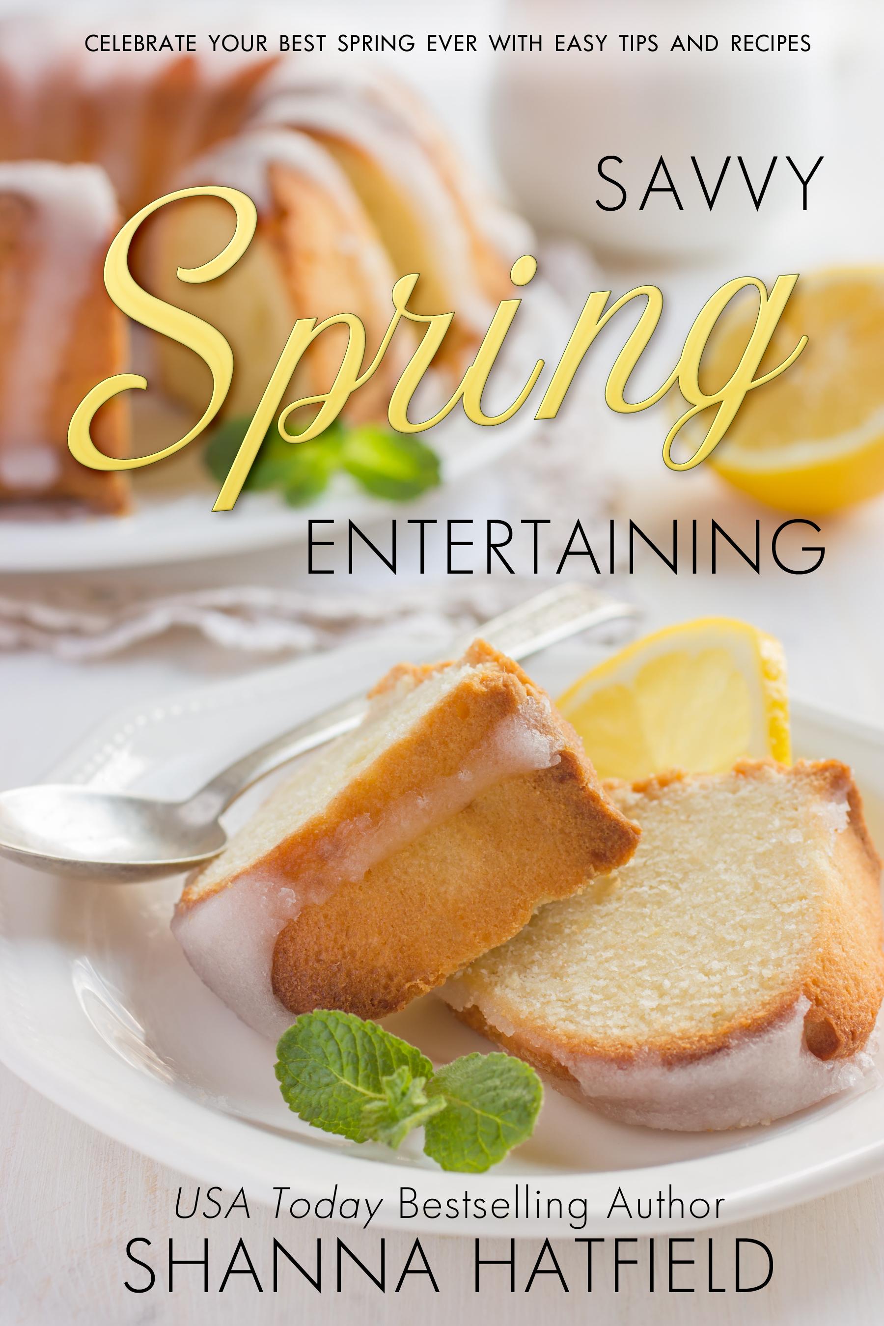 Savvy Spring Entertaining cover